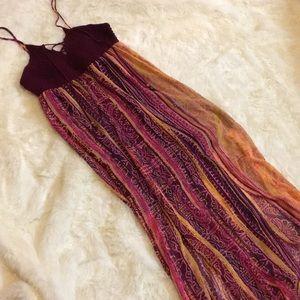 Beautiful Boho Maxi Dress